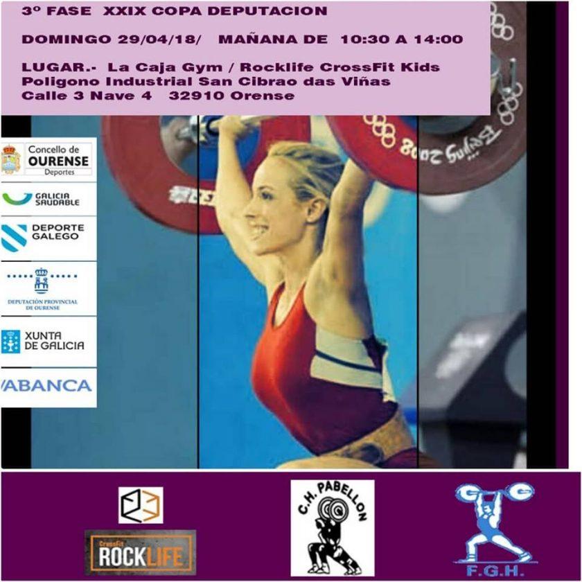 Copa Deputación de Halterofilia - 3ª jornada @ La Caja Gym / Rocklife CrossFit | Galicia | España