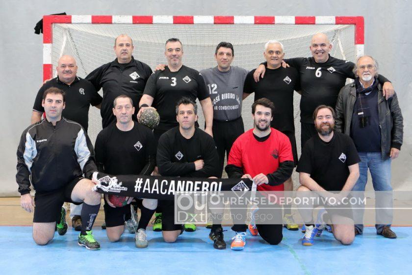 Balonmano Veteranos Foto Nacho Rego