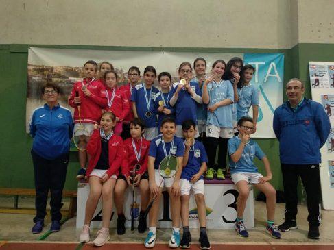 CEIP Mestre Vide al nacional tras proclamarse Campeón Gallego de Bádminton