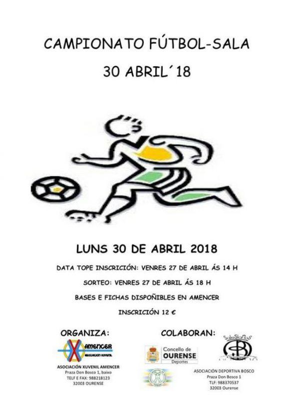Campionato Futbol Sala Amencer 2018 @ Colegio Salesiano Ourense