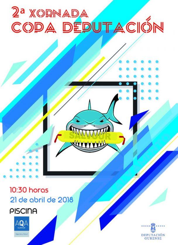 Salvamento e Socorrismo Copa Deputación - 2ª jornada @ Piscina AQA Ourense