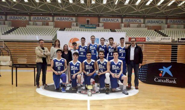 El COB júnior subcampeón gallego tras ganar en la final a Estudiantes