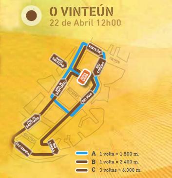 CxOU: Carreira do Vinteún (desde as 12:00)