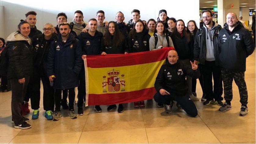 España gimnasia europeo trampolin 2018