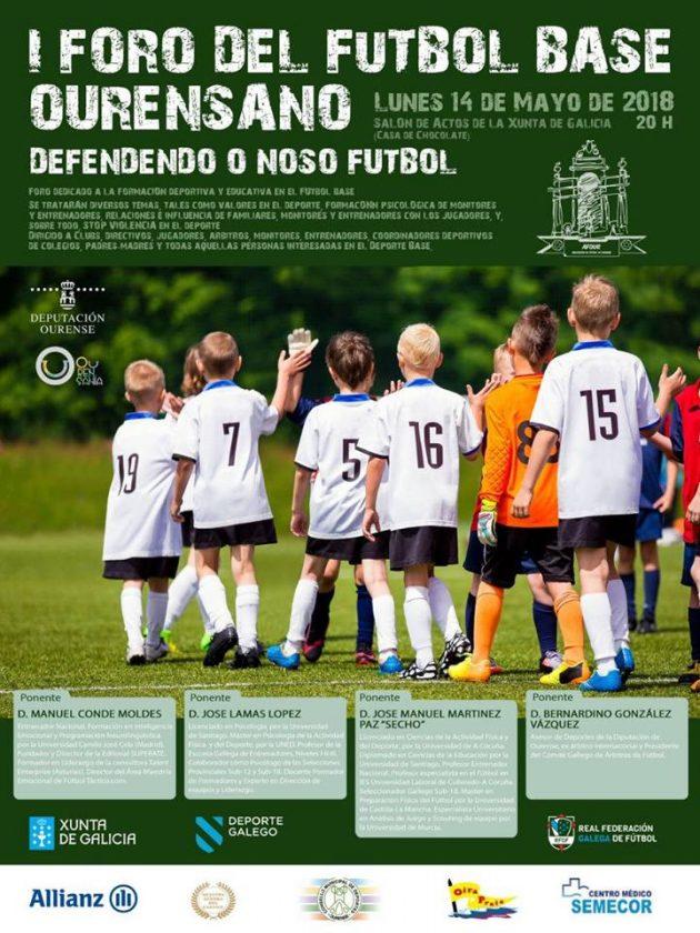 I Foro del Fútbol Base Ourensano @ Salón de Actos Xunta de Galicia | Orense | Galicia | España