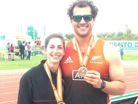 Leticia Gil y Carlos Revuelta oro y bronce en el Nacional Universitario