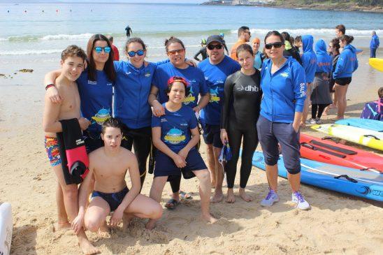 La Liga de Salvamento en aguas abiertas se inició con quince representantes de Salvour