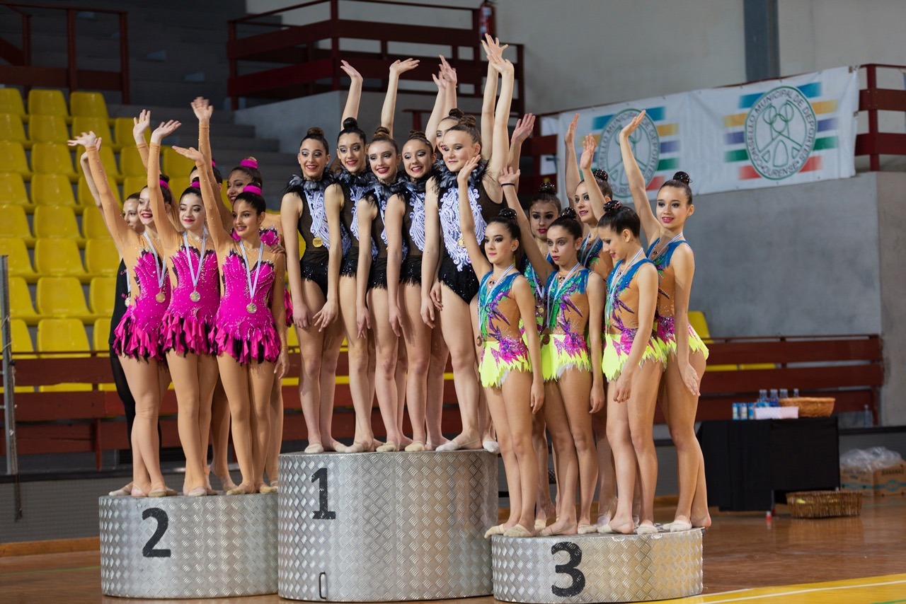 PODIUM CONXUNTOS JUNIOR ABSOLUTO