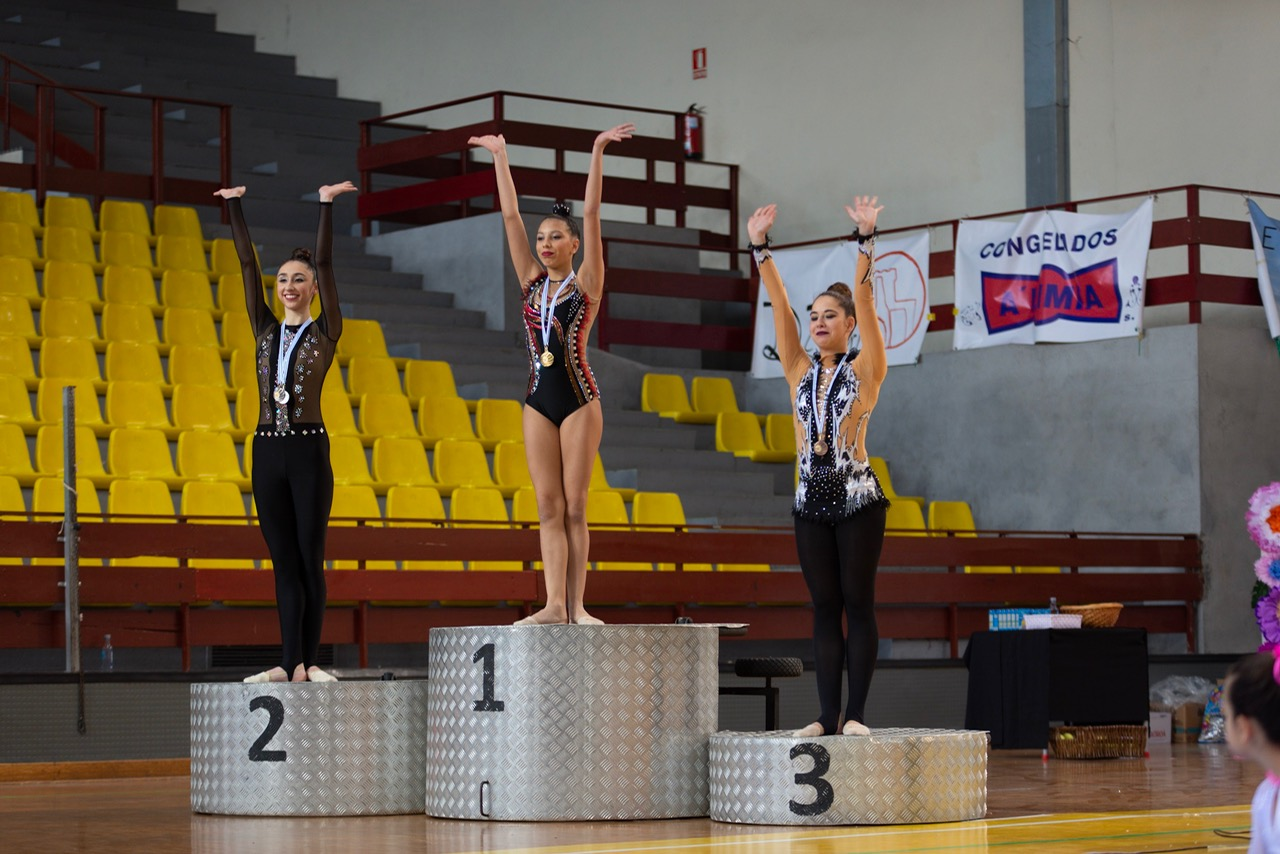 PODIUM SENIOR MAZAS