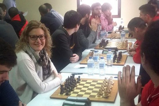 Importante victoria de Xadrez Ourense en Vilagarcía que vale a terceira praza na División de Honra