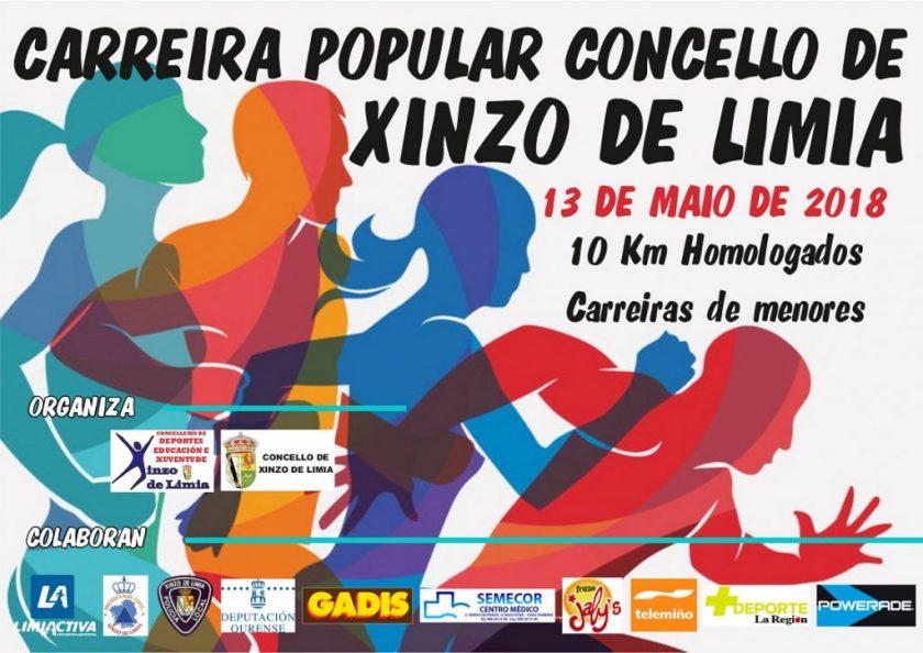 Carreira Popular Xinzo de Limia - 10k - 2018 @ Pavillón Municipal Xinzo | Ginzo de Limia | Galicia | España