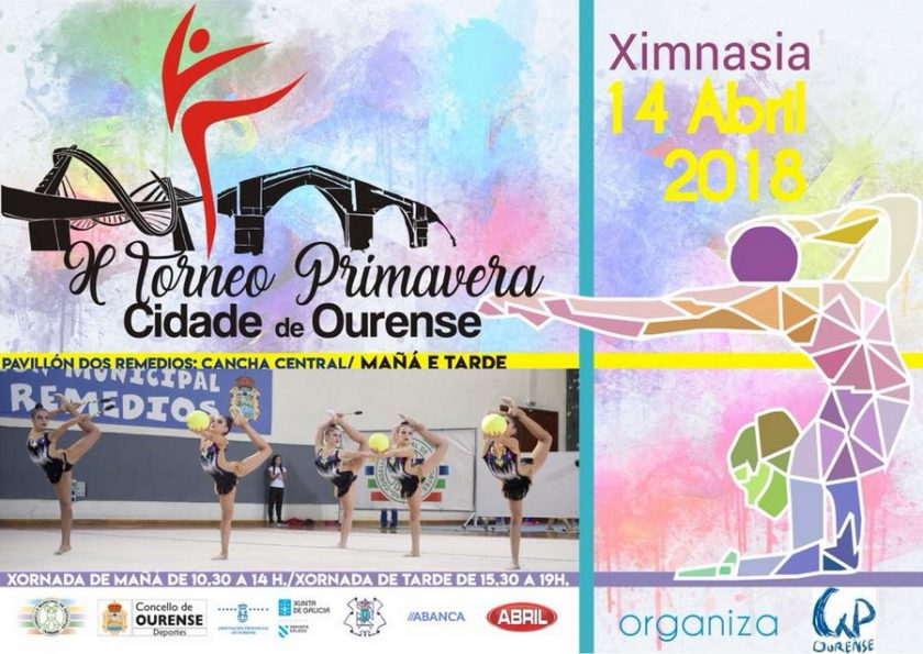 cartel torneo primavera cidade de ourense gimnasia