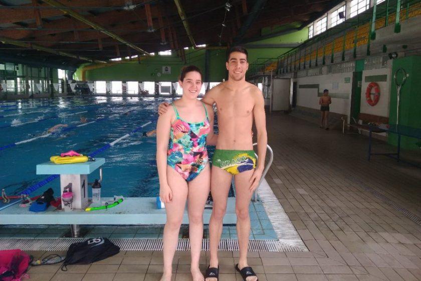 cnpo open Luz Fernández y David González