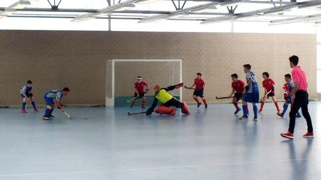 Los infantiles de Albor al Campeonato de España de hockey sala