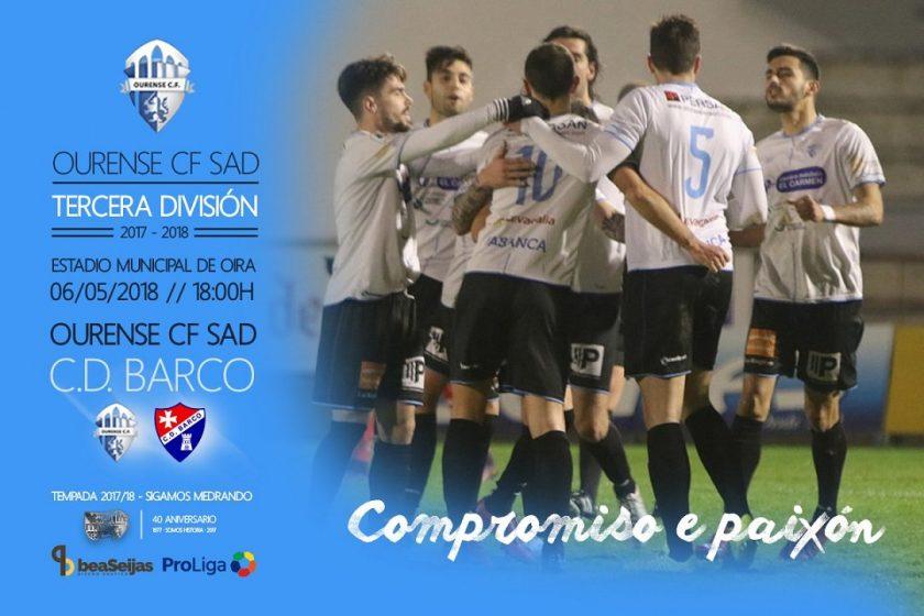 Ourense C.F. - C.D. Barco (Terceira División) @ Campo de Fútbol de Oira