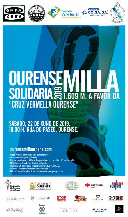 III Ourense Milla Solidaria @ Rúa do Paseo | Orense | Galicia | España