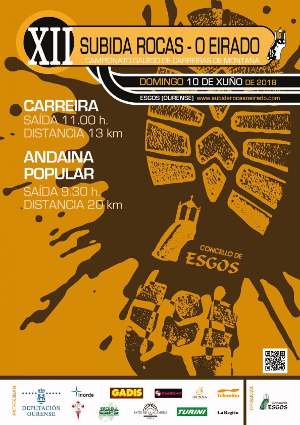 XII Subida Rocas - O Eirado (Cpto Galego de Carreira de Montaña) @ Esgos