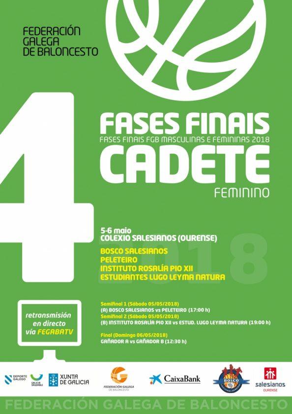 Baloncesto Femenino: Final Liga Gallega cadete @ Salesianos | Ourense | Galicia | España