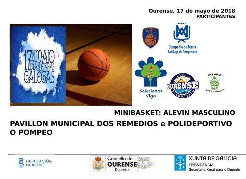 Torneo Letras Galegas de minibasket @ Anexo - Pabellón dos Remedios / Otero Pedraio