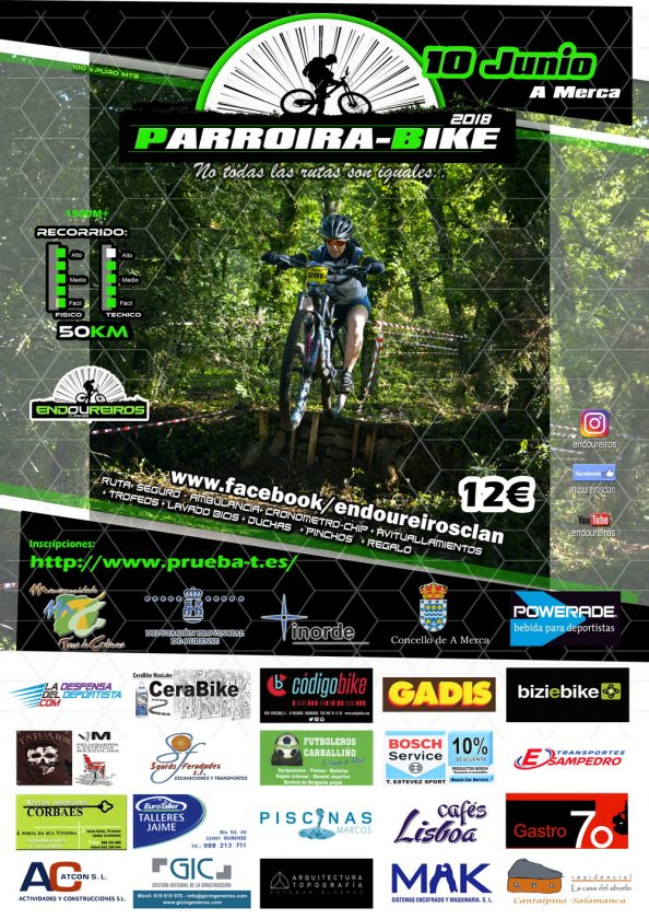 "Ruta BTT ""Parroira-bike 2018"" - A Merca @ Polideportivo Municipal | A Merca | Galicia | España"