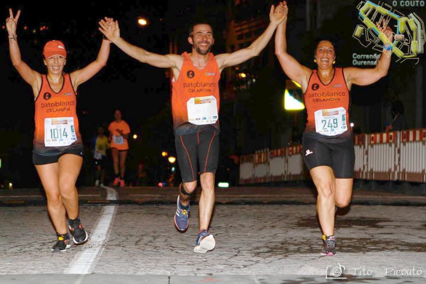 Correndo por Ourense Couto Foto Tito Picouto
