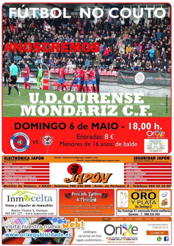 U.D. Ourense - Mondariz C.F. (Preferente) @ O Couto | Ourense | Galicia | España