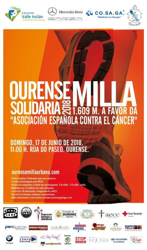 II Ourense Milla Solidaria @ Rúa do Paseo