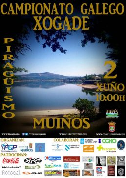 Piragüismo: Campionato Galego XOGADE-Muiños 2018 @ Muiños