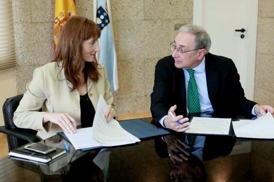 Secretaría Xeral para o Deportes e a CRTVG asinan convenio para o fomento deporte feminino, base e deportes tradicionais e minoritarios