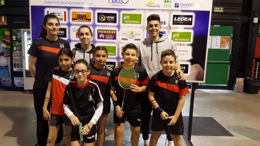 Sara Ezquerro Miguel Barbado menores 2018 badminton