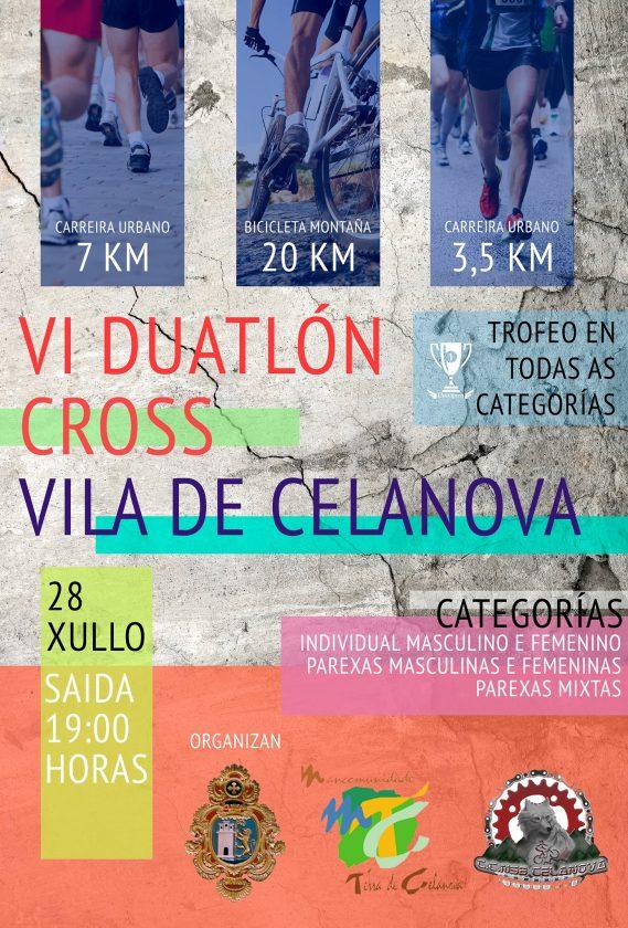 VI Duatlón Cross Vila de Celanova @ Celanova