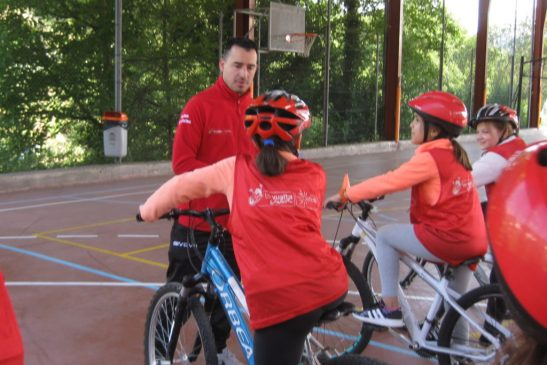 "O Consello Municipal de Deportes colabora no proxecto formativo ""La Vuelta Junior Cofidis"""