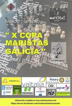 X Copa Maristas Galicia de Xadrez @ Colexio Maristas