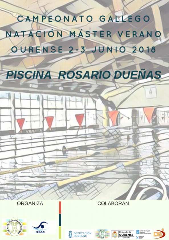 Cpto. Gallego de Natación Master (2ª jornada) @ Piscina Rosario Dueñas | Orense | Galicia | España