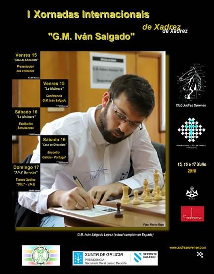 I Xornadas Internacionais de Xadrez con Iván Salgado @ Varias sedes