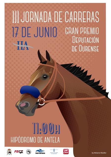 Carreras de caballos - Galope- 3ª Jornada @ Hipódromo de Antela