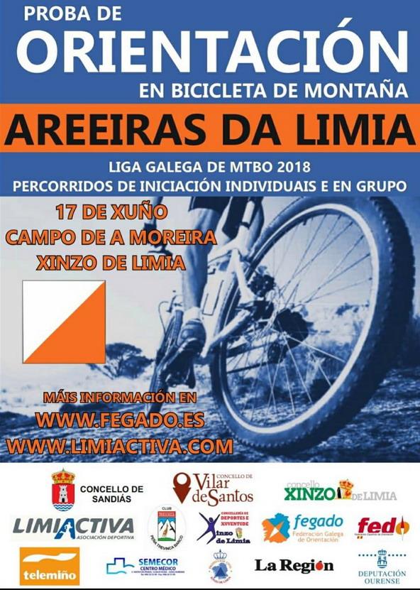 Orientación en MTBO- Areeiras da Limia @ Campo de A Moreira