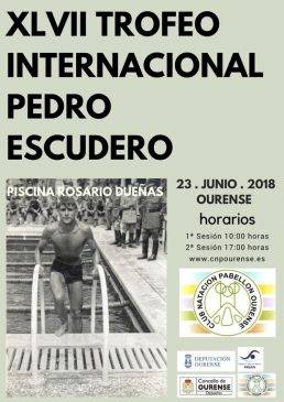 XLVII Trofeo Memorial Internacional Pedro Escudero @ Piscina Rosario Dueñas | Orense | Galicia | España
