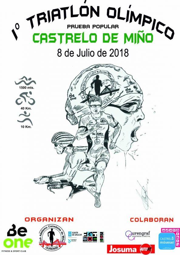 I Triatlón Castrelo de Miño (1500/40/10)
