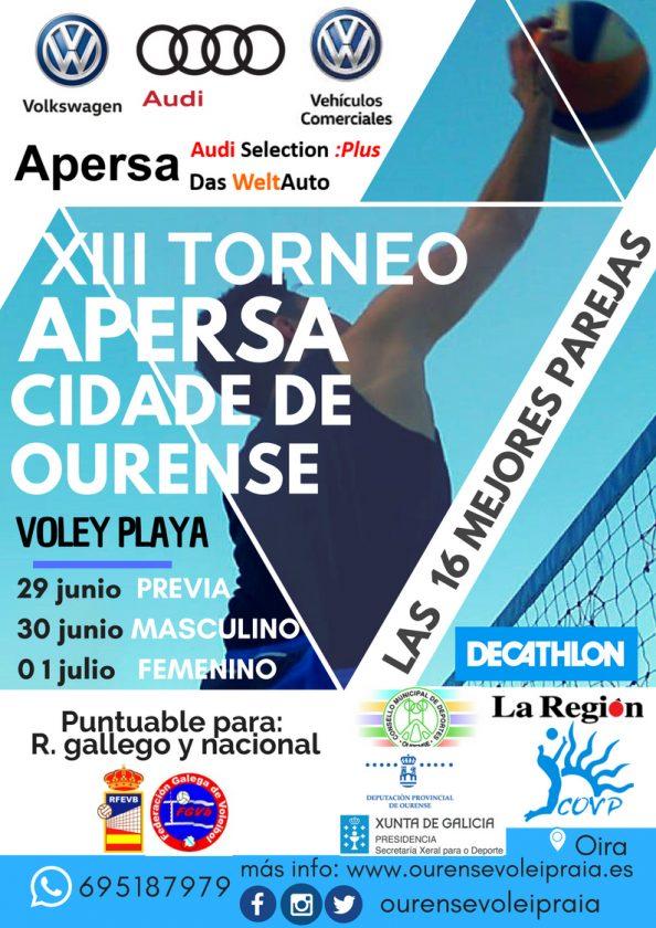 XIII Torneo Cidade de Ourense Volei Playa @ Oira - Campo Volei Praia