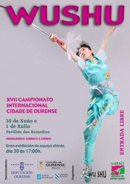 XVII Trofeo Internacional de Wushu Cidade de Ourense @ Pabellón Os Remedios