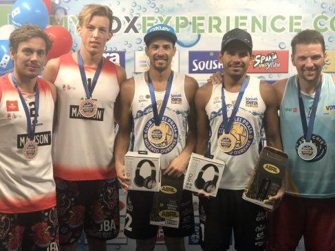 Escalona y Tovar vencedores del 2º Torneo Senior del verano disputado en el recinto deportivo de Oira