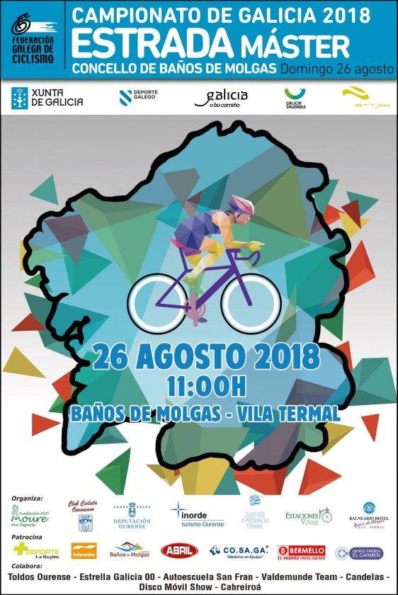 Ciclismo: Campionato de Galicia Estrada Máster 2018 @ Baños de Molgas