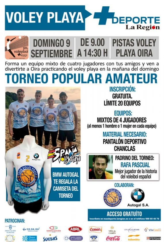 Voleyplaya: Torneo Popular Amateur @ Oira - Campo Volei Praia