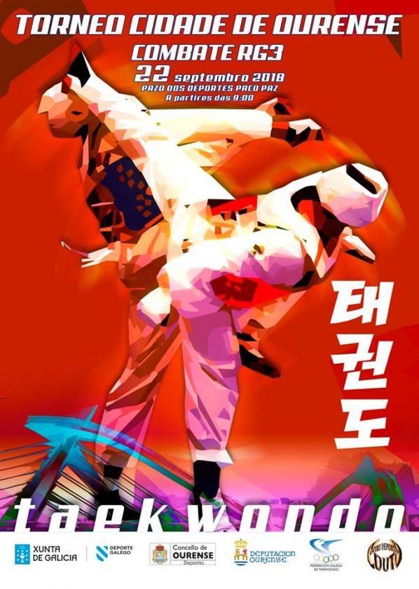 Taekwondo - Torneo Cidade de Ourense Combate RG3