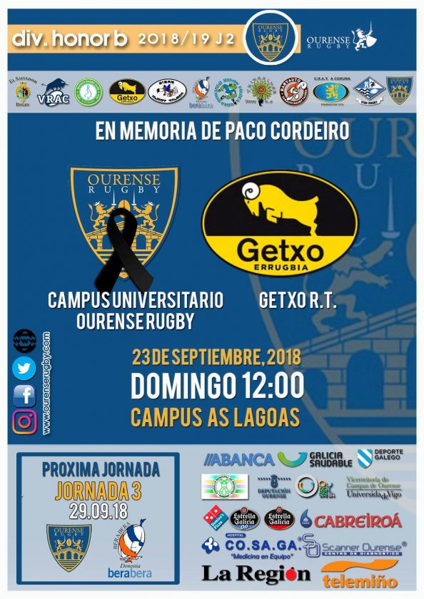 Ourense Campus Rugby Getxo