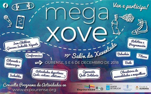 MEGAXOVE Salón de la Juventud (19ª Edición) @ Expourense - Pista Cubierta | Orense | Galicia | España