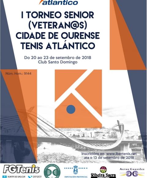 Torneo Veteranos de Tenis Ourense 2018