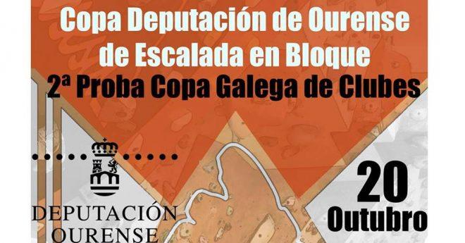 Copa Deputación de Escalada en Bloque. 2ª Copa de Galega de Clubs @ pin  Asociación de Escaladores Ourensáns