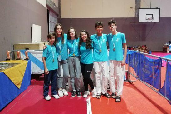 Destacada actuación de los representantes del Centro Deportivo Couto en el Cidade de Riveira